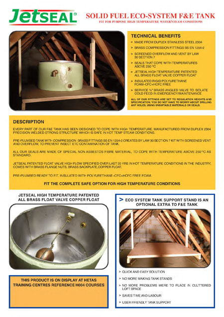 Jetseal Solid Fuel F&E Tank